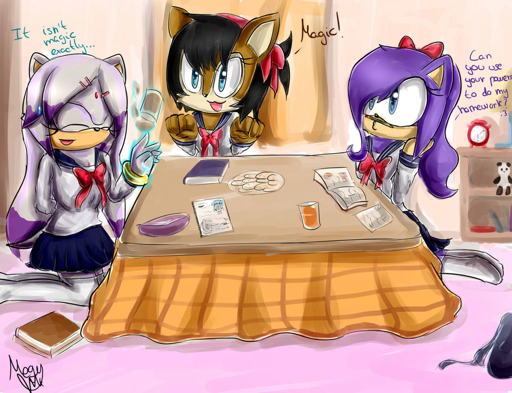 :CE: Study time by Cometshina