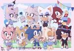 Sonic chibis Birthday edition