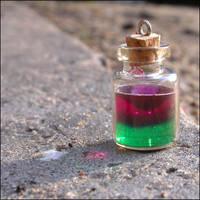 Green-violett potion by astis
