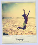 jumping.