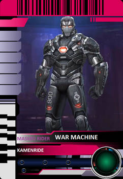 War Machine Rider Card Custom
