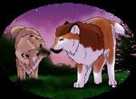 Breedingpic - Kurama x RingaLinga  by Kysan