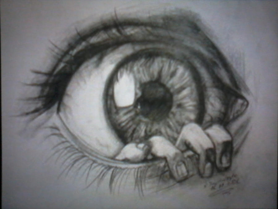 the eye by darkartfromthehart