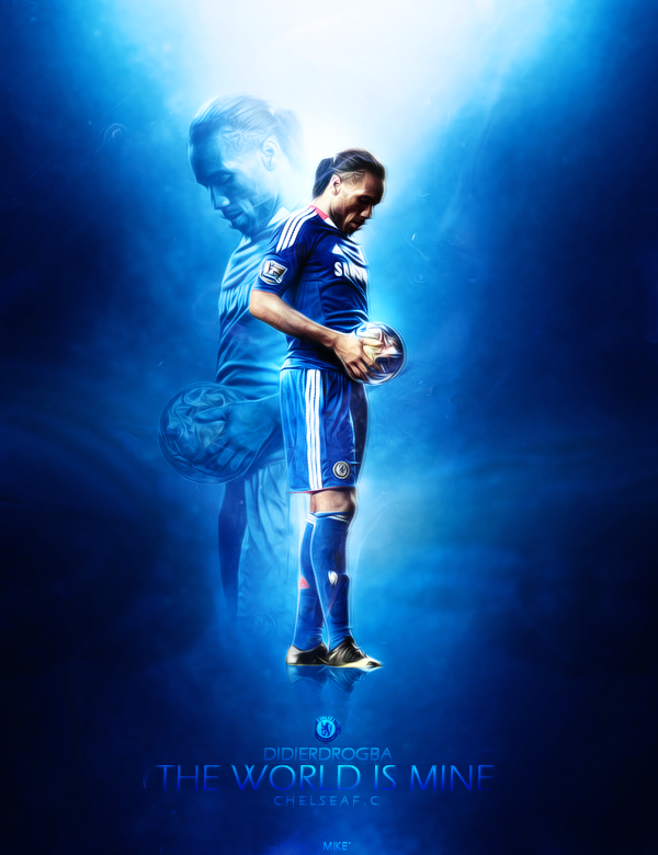 The World is Mine - Drogba by mikeepm