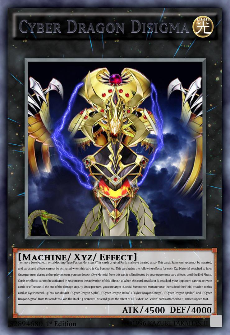 Yugioh: Cyber Dragon Disigma by Benny-bloodbath on DeviantArt