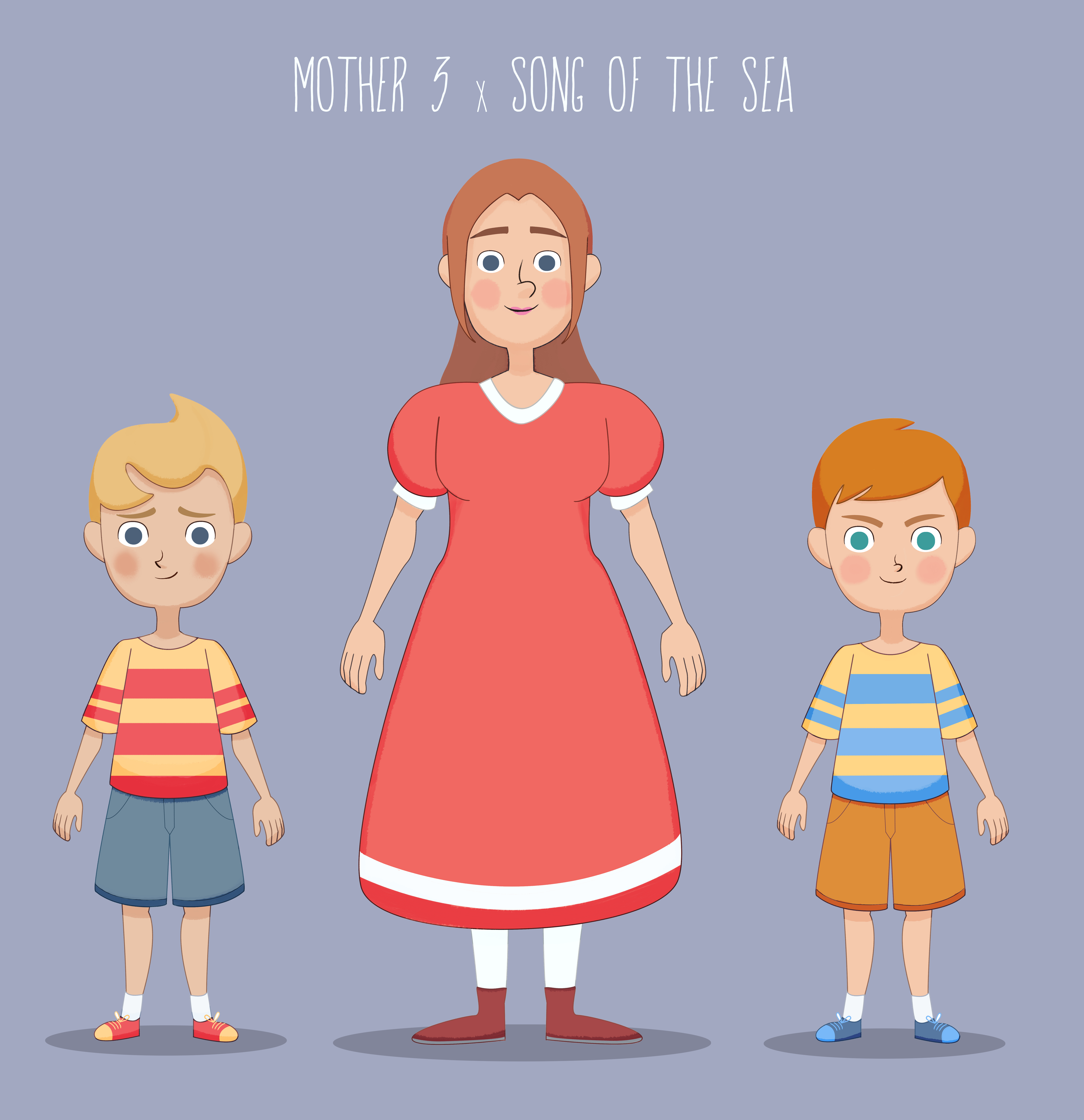 Mother 3 x Song of the Sea by white-yoshi on DeviantArt
