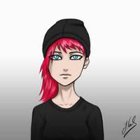 Pinky-Red-Girl-Sketch71143211 by Gubnub