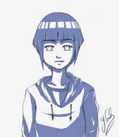 (Confident looking) Hinata_Sketch253115241_23.7.14 by Gubnub