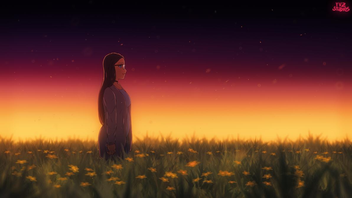 Rose Sunset Wallpaper by Gubnub