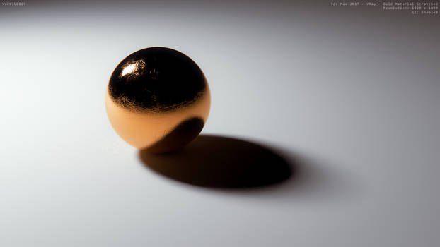 Realistic Material - Gold