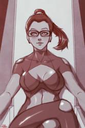 The Queen - Sketch23503546 - OC #2