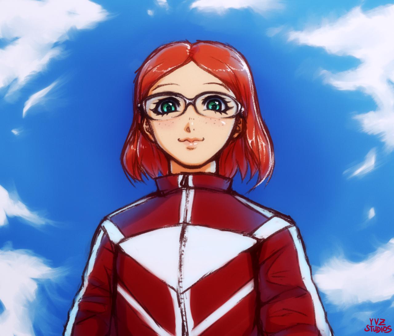 Kid A - Anime Girl by Gubnub