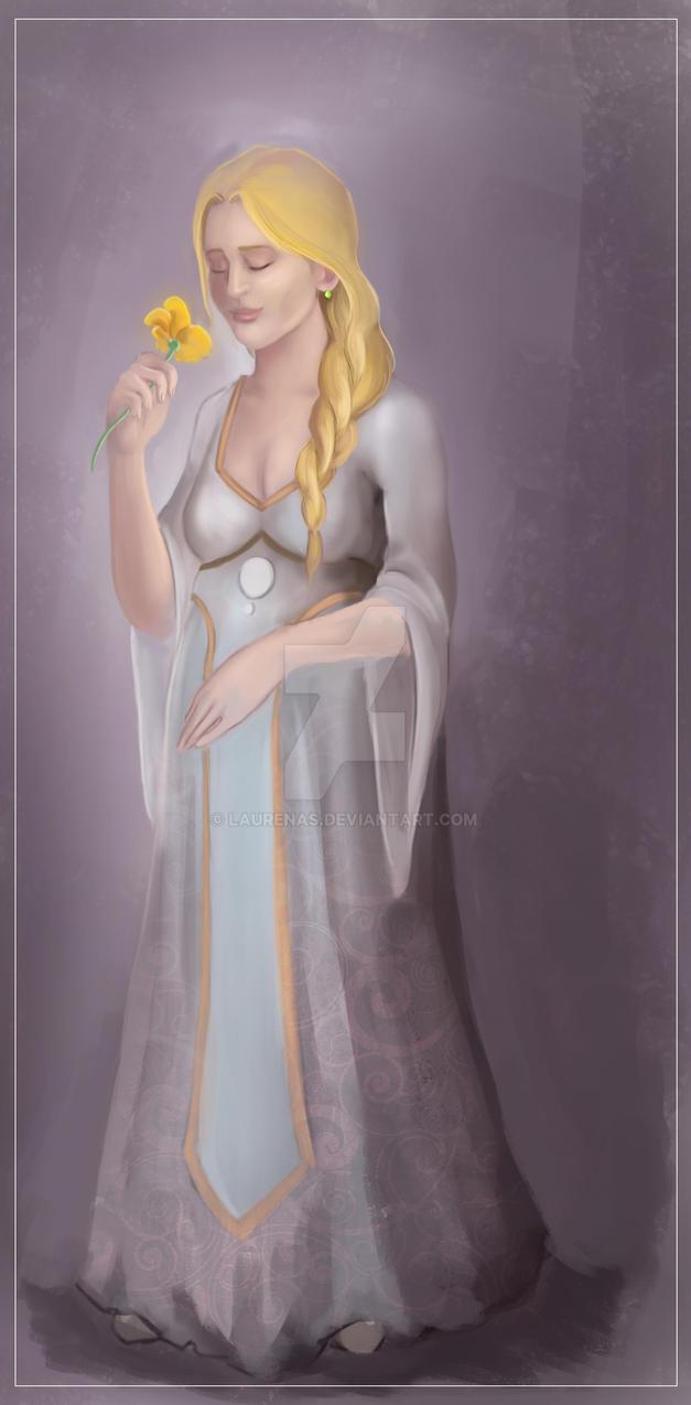 Anastasia von Lautenbach im Umstandskleid by Laurenas