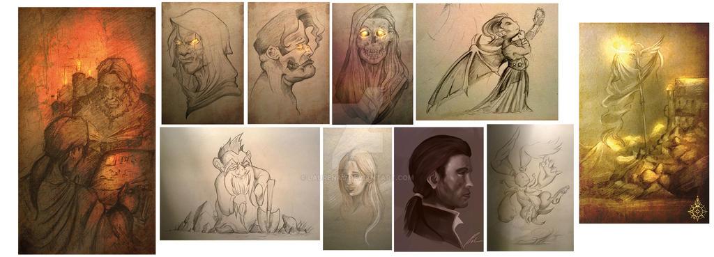 Bilderreihe Sketches by Laurenas