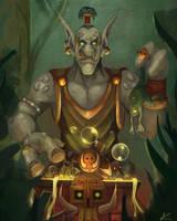 zandalari witchdoctor by Laurenas