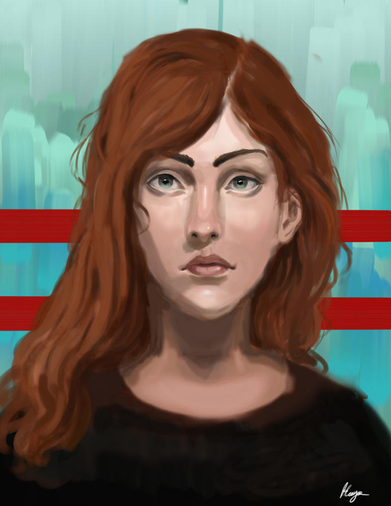 Portrait 1: 12\19\16 by hugomaster5