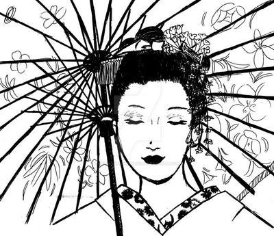 Geisha by MurasakiChibiNeko