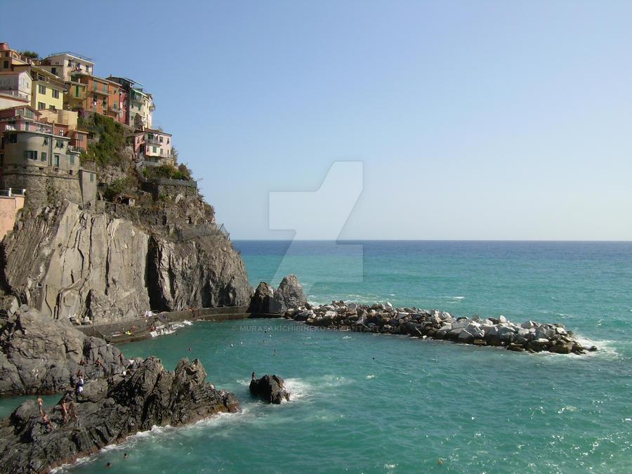 RioMaggiore cliff by MurasakiChibiNeko