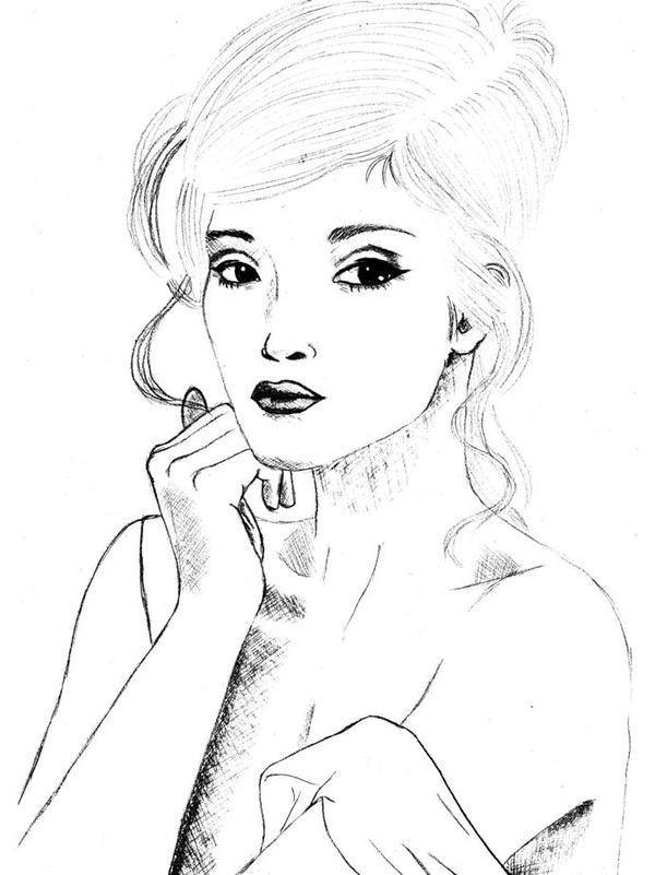 Picture of an actress by MurasakiChibiNeko