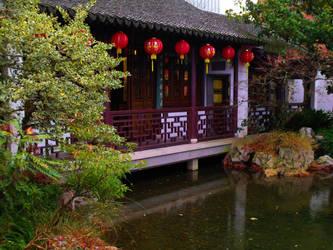 Lan Su Chinese Garden by MFDonovan