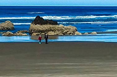 Beach Walk by MFDonovan