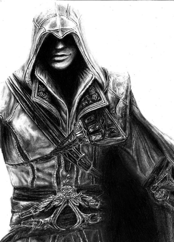 ASSASSIN'S CREED - Ezio Auditore da Firenze by danieltaylor