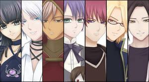 Princess of Ruin: Characters