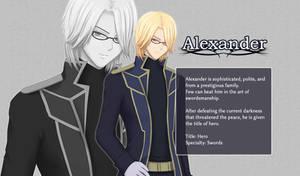Princess of Ruin: Alexander's Profile