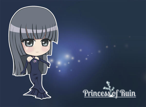 Princess of Ruin: Chibi Raissa by venus-eclipse