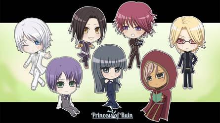 Princess of Ruin Chibis!