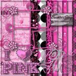 I Love Pink Scrap Kit