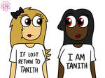 Courtney and Tanith (Redraw) by Lavender-Trashcan