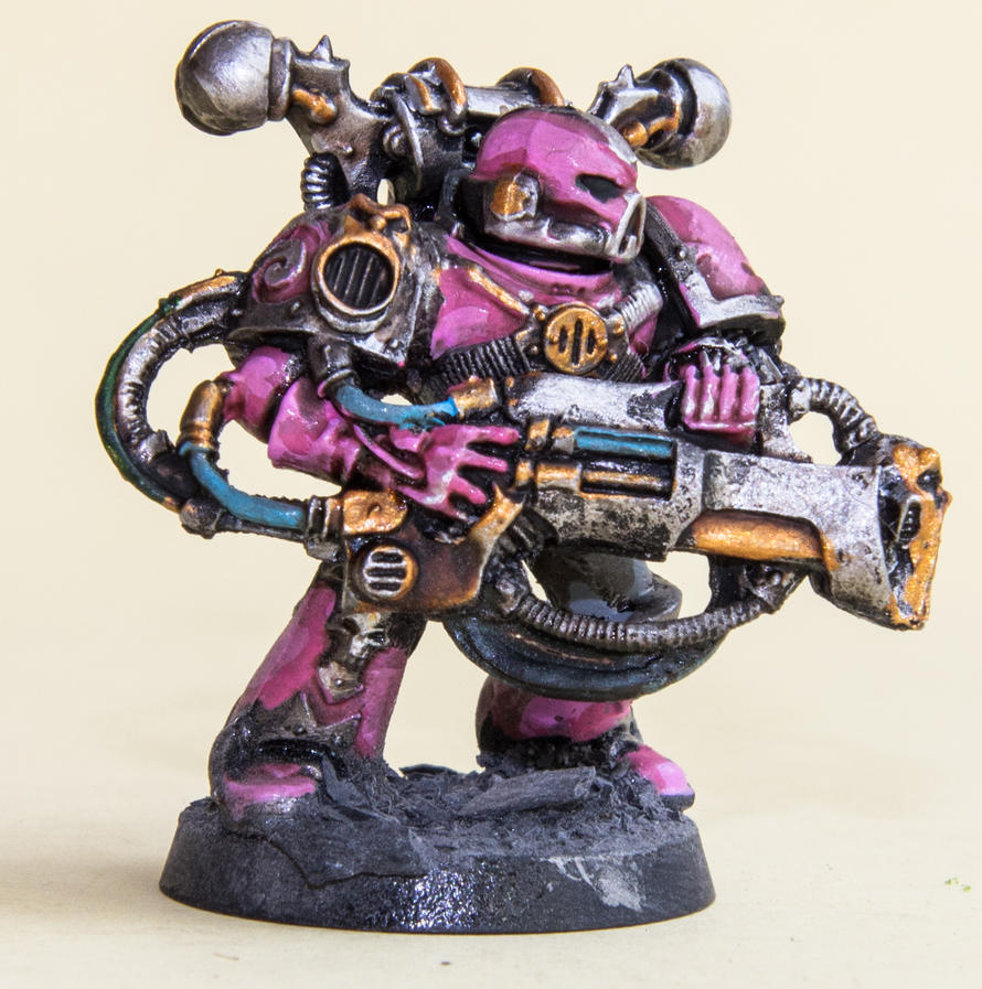Noise Marines Slaneesh Chaos Space Marine by Bierkobold on ...