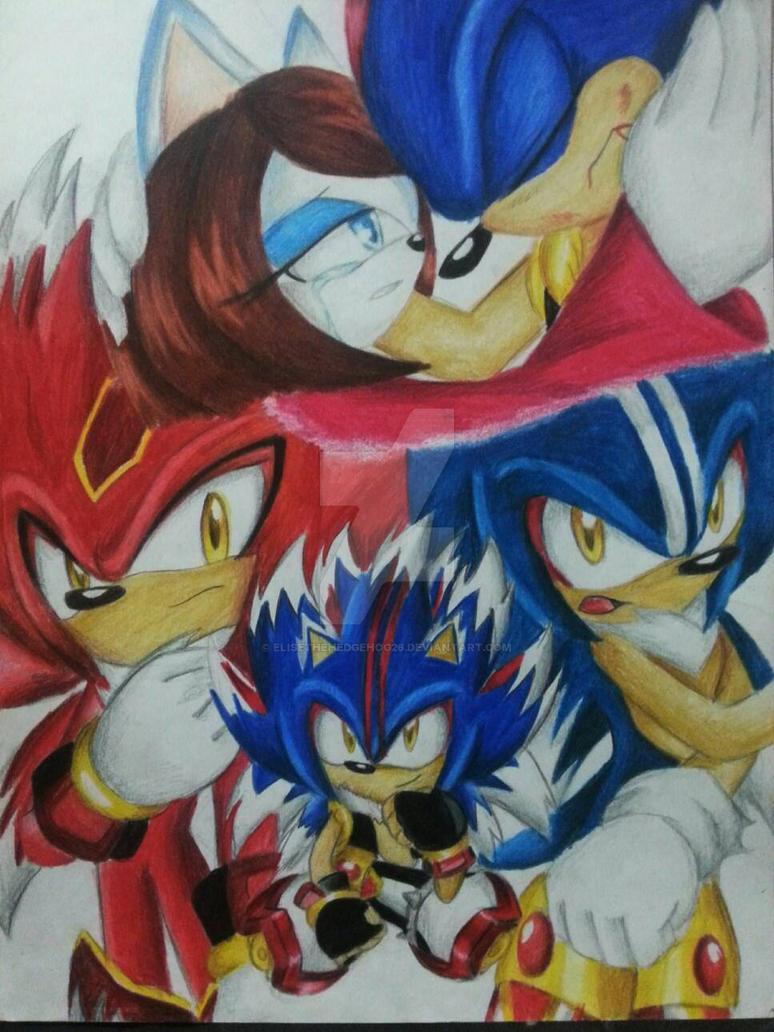 Super Sonic X UniverseEl legado de los dioses by