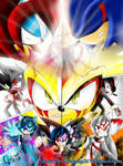 SSXU- La ira de los Dioses Digital Art