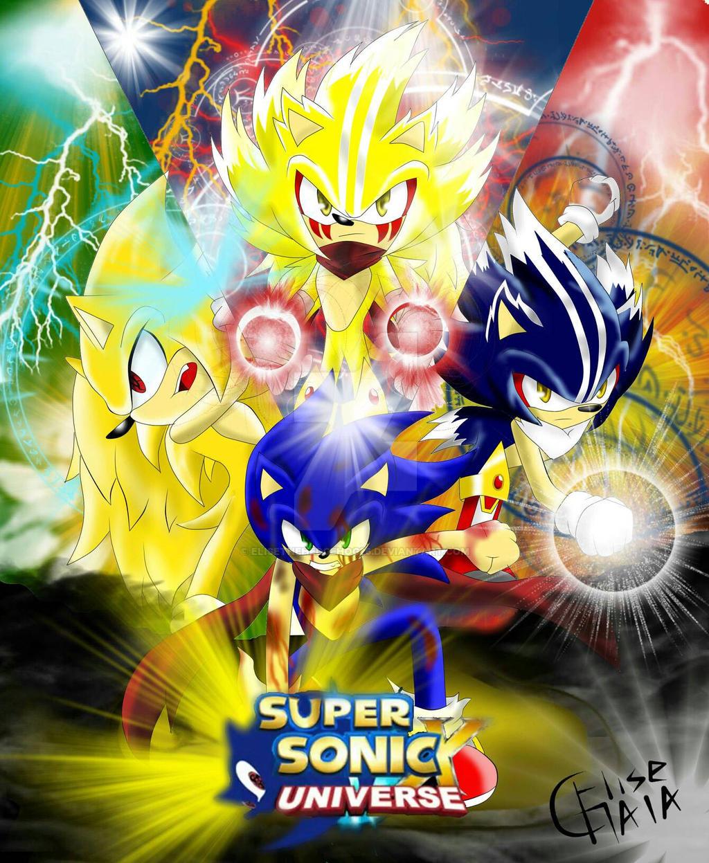 Sonic Forms: SSXU-Super Form Of Sonic By EliseTheHedgehog26 On DeviantArt