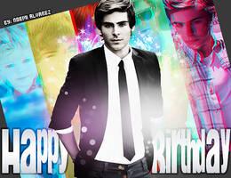 Happy Birthday Zac by JonasFan93