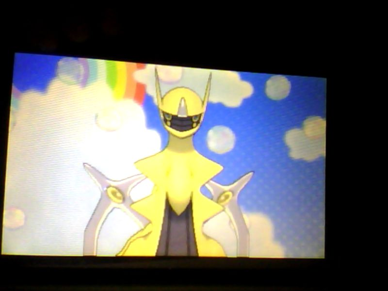 My Shiny ARCEUS by SonicandRBisawesome on DeviantArt