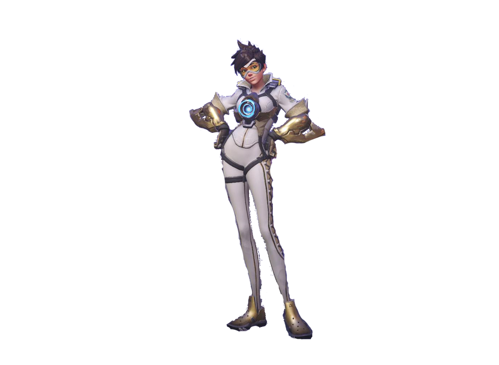 [Overwatch]  Transparent Posh Tracer by SonicandRBisawesome