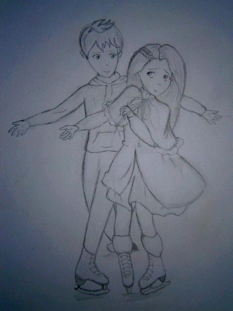 Sweet ice-Jack and Rapunzel