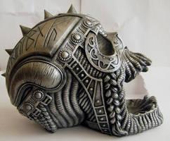 Metal Skull III by StarSlateStock