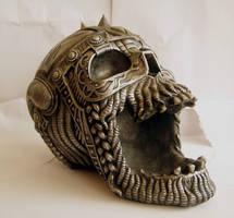 Metal Skull IV by StarSlateStock