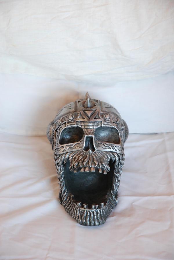 Metal Skull VI by StarSlateStock