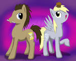 Doctor Whooves and Derpy too