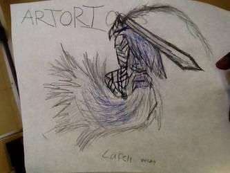 Artorias fan drawing by lavafruitz by lavafruitz