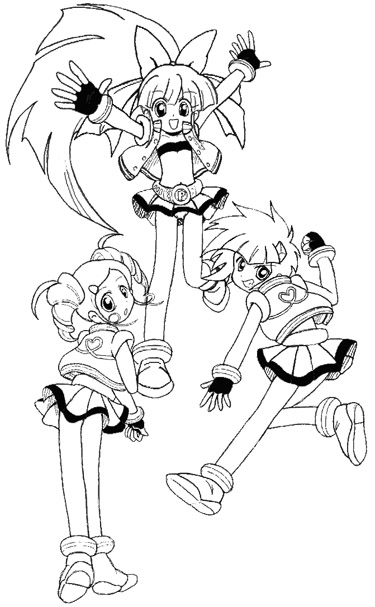 Ppgz Coloring Coloring Pages Powerpuff Z Coloring Pages