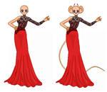 Dress template 1
