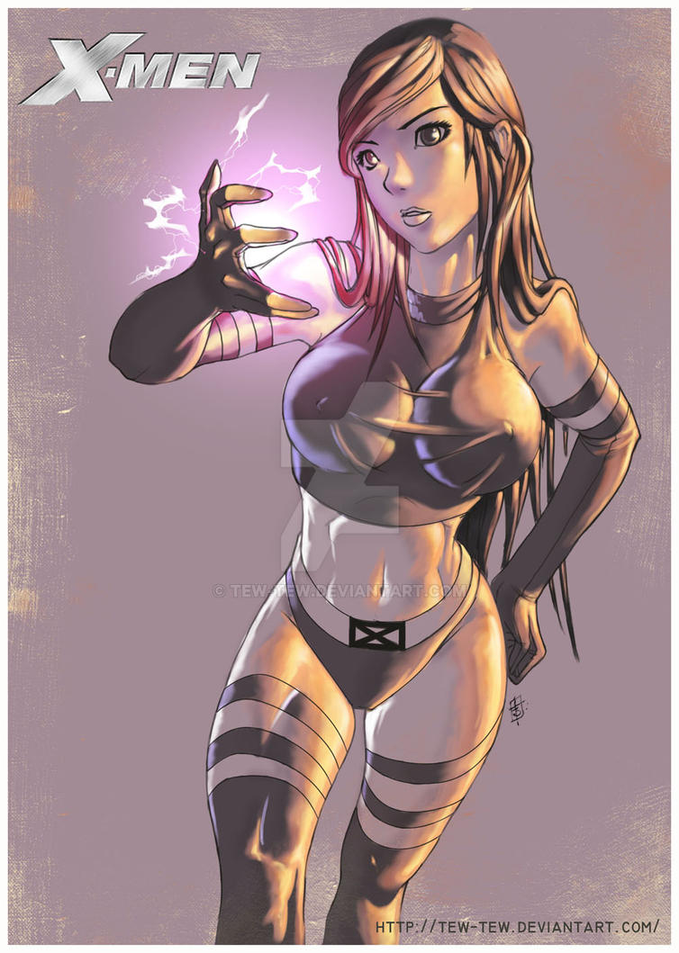 Psylocke X-MEN by tew-tew