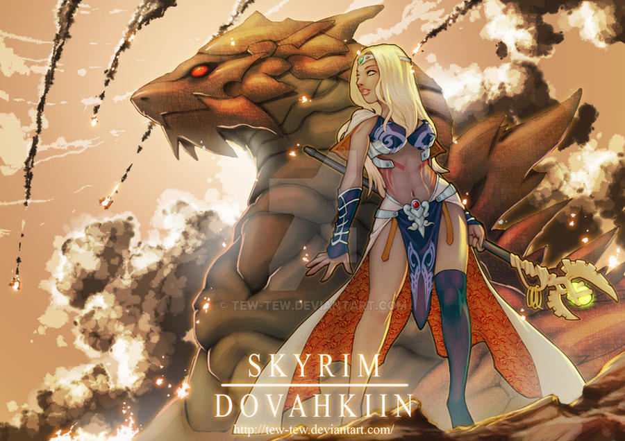Dovahkiin Skyrim by tew-tew