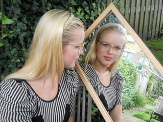 95215f7ae2 Lentilux 1 0 Beautiful Melissa in Cazal glasses by Lentilux